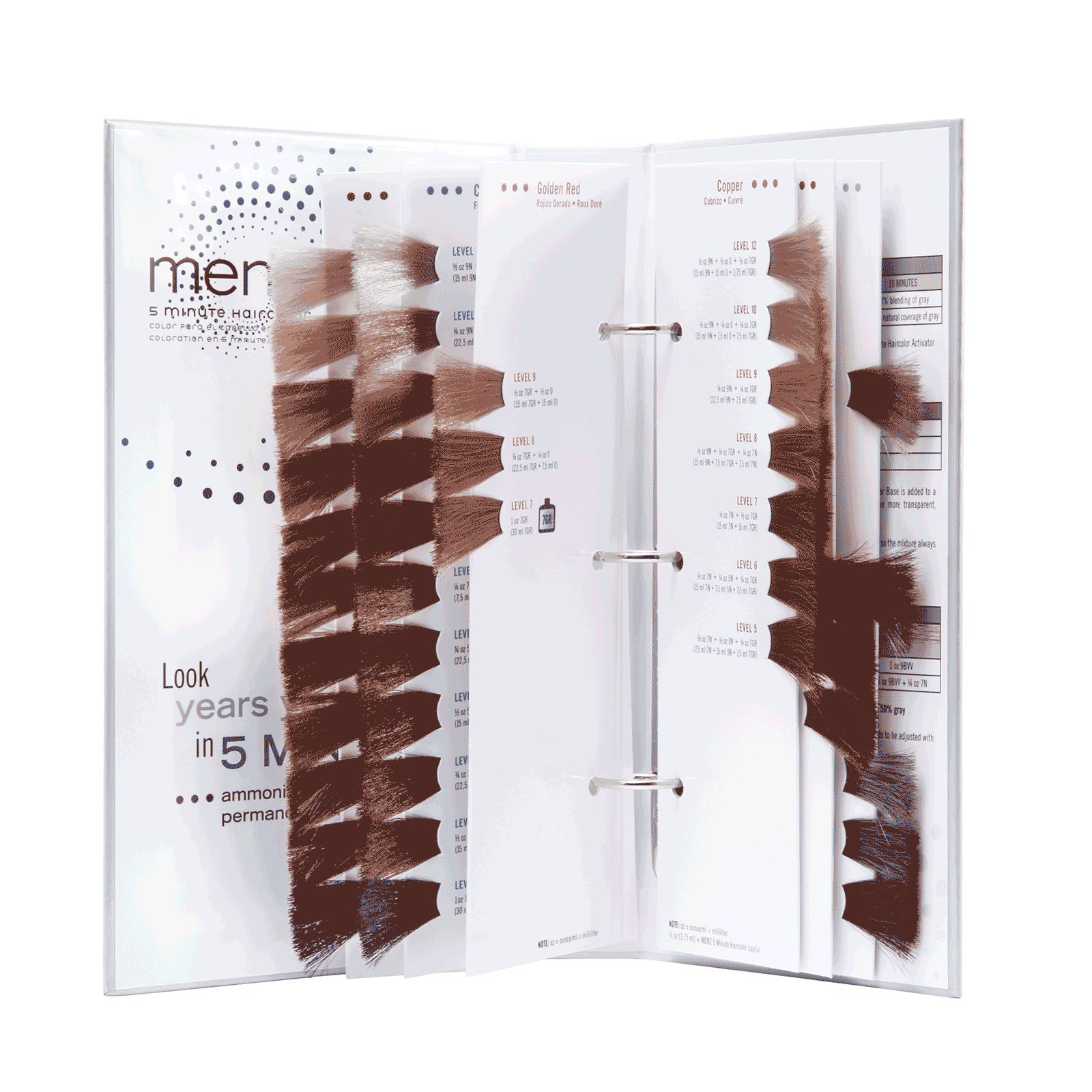 5 Minute Haircolor Swatch Book - Scruples   CosmoProf